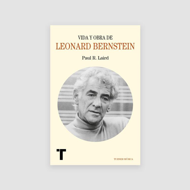 Portada Libro Vida y obra de Leonard Bernstein