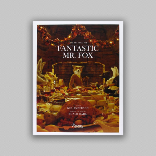 Portada Libro: The making of Fantastic Mr. Fox