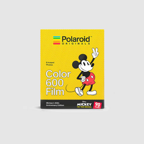 Polaroid color 600 film Mickey Mouse Edición limitada