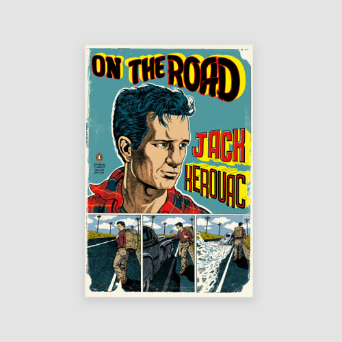 Portada libro - On the road