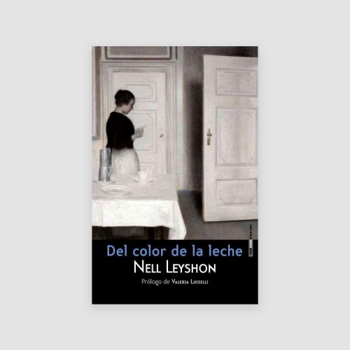 Portada libro - Del color de la leche