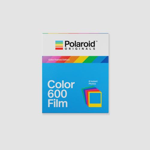 Color 600 film - Edición con marcos de colores