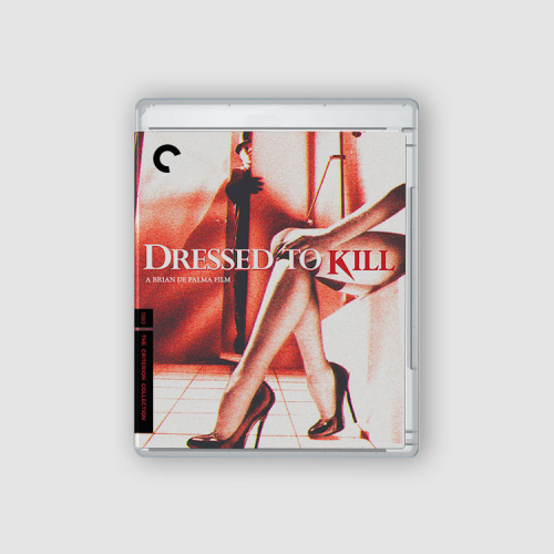 Dressed to kill - Blu Ray cover