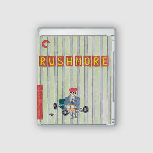 Rushmore Blu Ray cover