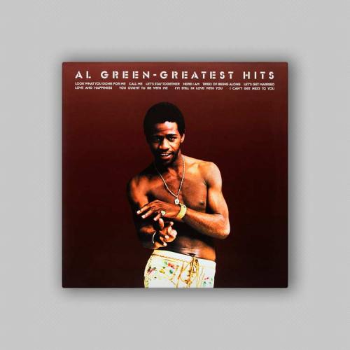 Portada disco Al Green - Greatest Hits