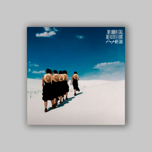 Album cover: Wye Oak - The Louder I Call, the Faster it Runs