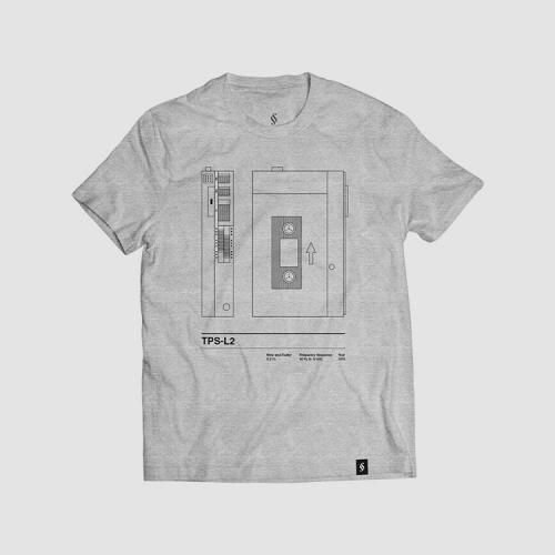 Camiseta hombre talla M - TPSL2 gris