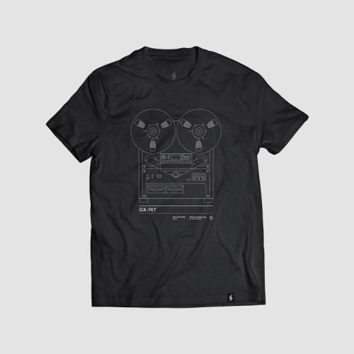 Camiseta hombre talla S - GX747 negra