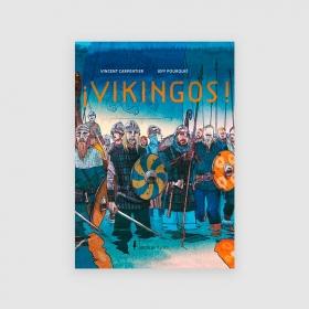 Portada libro Vikingos